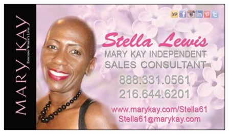Mary Kay Consultant,  Stella Lewis