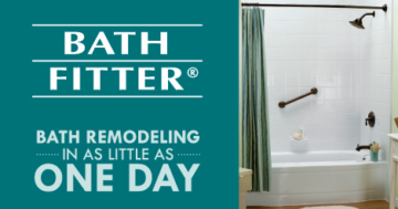 Bath Fitter - Same day remodeling