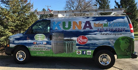 KUNA Heating and Air Conditioning - Strongsville, Ohio