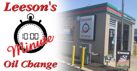 Leeson's 10 Minute Oil Change