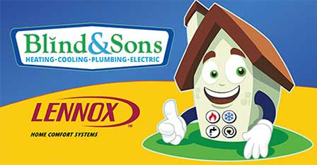 Blind and Sons Heating, Cooling, Plumbing & Electric