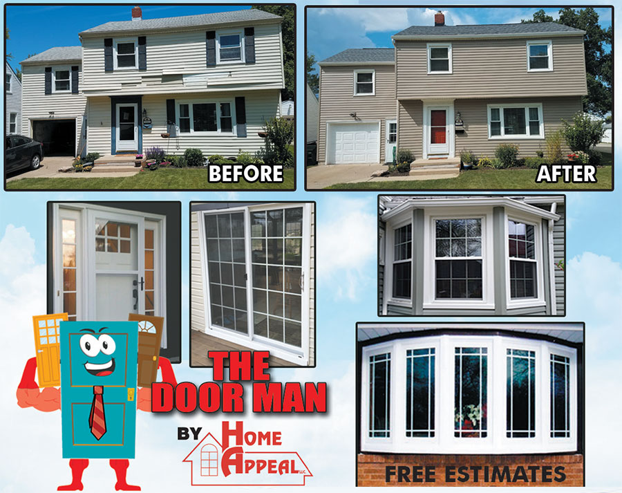Home Appeal - Stow, Ohio - Quality siding, windows, doors, roofing and insulation in Akron, Ohio for comfort and style. Insured, Licensed & Bonded.