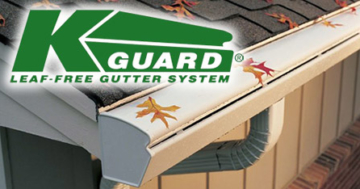K-Guard Leaf Free Gutters - Macedonia, Ohio - Gutter Covers & Guards