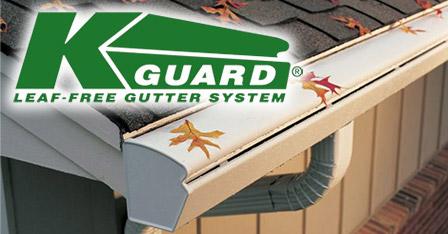 K-Guard Leaf Free Gutter System