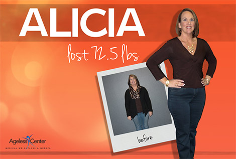 Ageless Center Medical Weight Loss & MedSpa - Alicia Testimonial