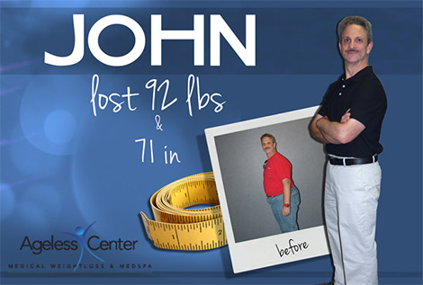 Ageless Center Medical Weight Loss & MedSpa - North Olmsted, Ohio - John Testimonial