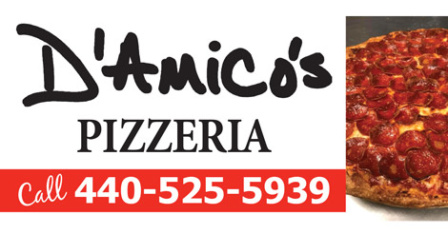 D'Amicos Pizzeria – Eastlake, Ohio