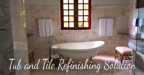Tub And Tile Refinishing Solution