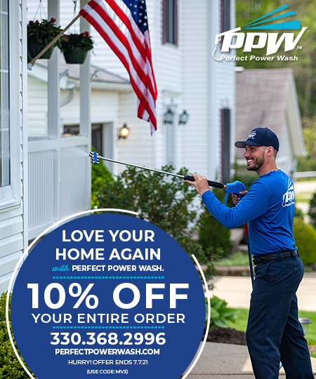 Perfect Power Wash Coupons - Norton, Ohio - is Cleveland and Akron's first choice for top quality power washing, pressure cleaning and exterior restoration services.