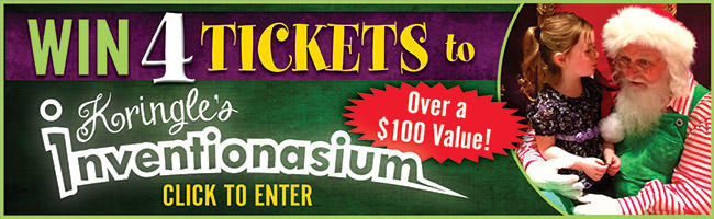 Enter to Win 4 Tickets to Kringle's Inventionasium