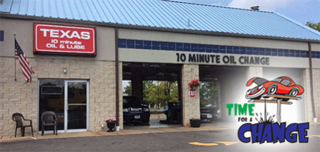 Texas 10 Minute Oil & Lube