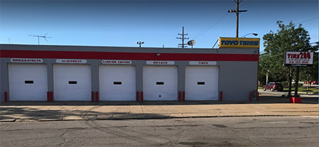 Tire 200 - Auto Service Center - Cleveland, Ohio - New and used tire installation, Brake service, shocks/struts, wheel alignments, Starters and More!
