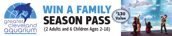 Enter to Win a Greater Cleveland Aquarium Family Season Pass