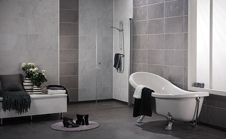 Innovate Building Solutions - Cuyahoga Heights, Ohio - Bathroom Remodeling. The No-Tile, Tile Shower & Bathroom Wall Panels! NO GROUT WALL PANELS