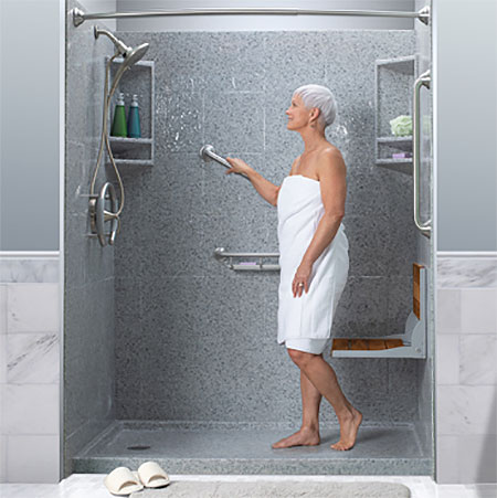 Leaf Home Safety Solutions - Northeast Ohio - Walk-in tubs, stair lifts, vertical lifts, and tub-to-shower solutions improve mobility around your home.