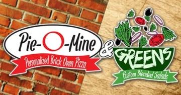 Pie-O-Mine & Greens - Northeast Ohio - Create-Your-Own Pizza & Salads