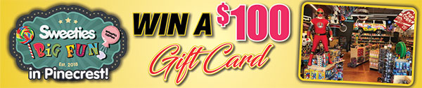 Enter to Win a Gift Card for Sweeties Big Fun