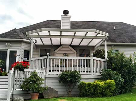BrightCovers Structures - Cleveland, Ohio - Patio Covers, Awnings and Commercial Canopies add a practical, functional touch to any outdoor living space.