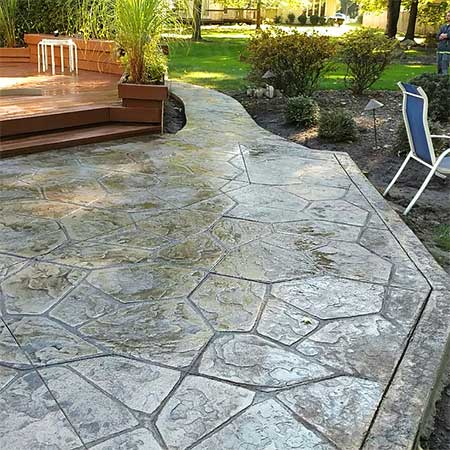A Touch of Landscapes and Concrete - North Royalton, Ohio - Landscaping, Stamped Concrete, Hardscapes and Drain Tile Services