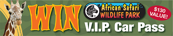 WIN African Safari V.I.P. Car Pass - Port Clinton, Ohio