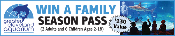 WIN a Greater Cleveland Aquarium Family Season pass - Port Clinton, Ohio