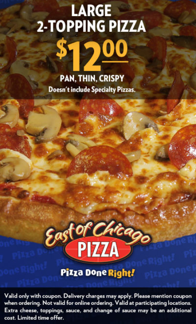 East of Chicago Pizza 1200