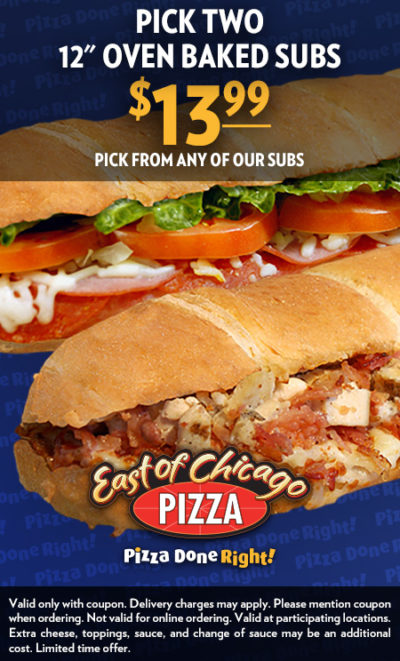 East of Chicago Pizza Subs 1399