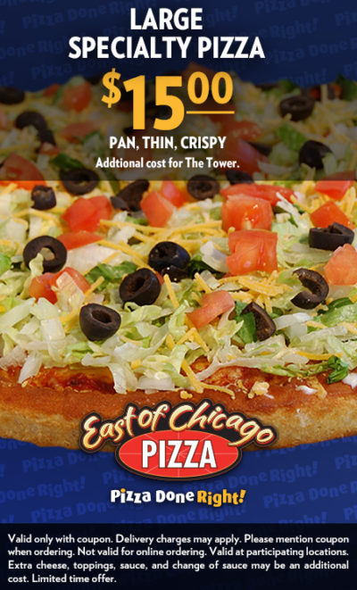 East of Chicago Pizza 1500