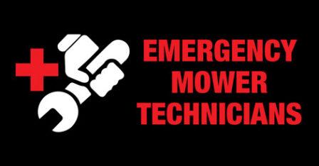 Emergency Mower Technicians
