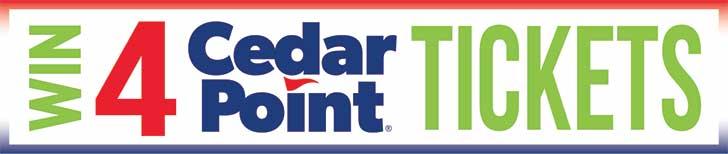 Win 4 Cedar Point Tickets