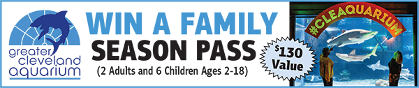 Win a Family Season Pass for the Greater Cleveland Aquarium